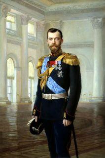 Портрет императора Николая II (Репродукция Эрнеста Липгарта)