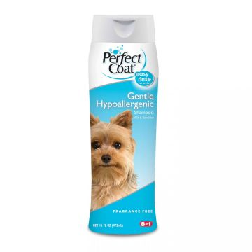 Шампунь гипоаллергенный, Gentle Hypoallergenic Shampoo, 8in1/Perfect Coat, 473мл