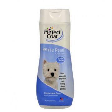 Шампунь+кондиционер 8in1 PC White Pearl Shampoo & Conditioner, для светлых собак, 473мл