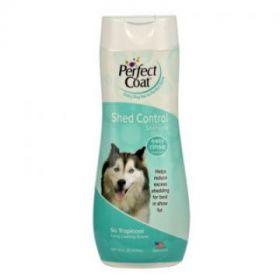Шампунь против линьки, для собак Shed Control Shampoo, 8in1/Perfect Coat, 473мл