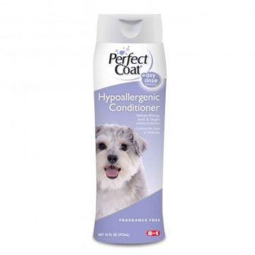 Гипоаллергенный кондиционер для собак, Hypoallergenic Conditioner, 8in1, Perfect Coat, 473мл