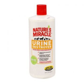 Уничтожитель пятен и запахов мочи 8in1 NM Just For Cats Urine Destroyer, 946 мл