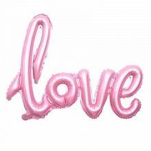 """Надпись """"Love"""", розовый, 41""""/ 104 см, Китай"""