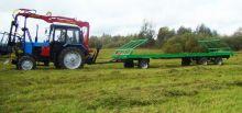 Прицеп-рулоновоз тракторный 8 - 11 тон RMZ