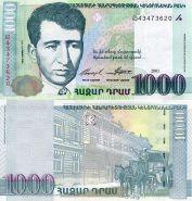 Армения 1000 Драм Драмов 2011 года