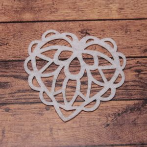 Декоративный элемент из фетра 1мм, размер 70 мм (1уп = 32шт), Арт. ФЗ0021