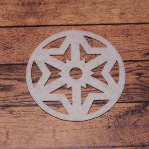 `Декоративный элемент из фетра 1мм, размер 70 мм (1уп = 5шт), Арт. Р-ФЗ0003