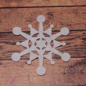 `Декоративный элемент из фетра 1мм, размер 70 мм (1уп = 5шт), Арт. Р-ФЗ0012