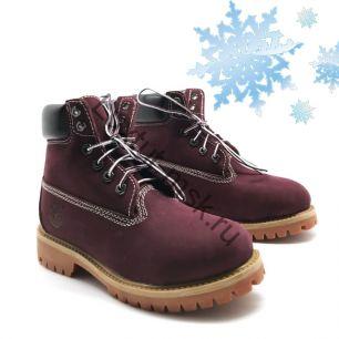 Ботинки Timberland с мехом
