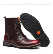 Мужские кожаные ботинки SURGUT Vintage Combat