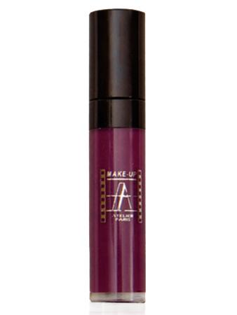 Make-Up Atelier Paris Long Lasting Lipstick RW17 Блеск - тинт для губ суперстойкий фиолетовый