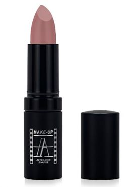 Make-Up Atelier Paris Velvet Lipstick B111V Bois de rose Помада Велюр песочно - фиолетовый