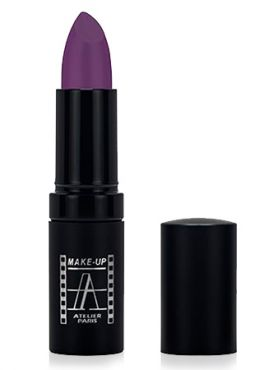 Make-Up Atelier Paris Velour Lipstick B108V Violine Помада Велюр виолин