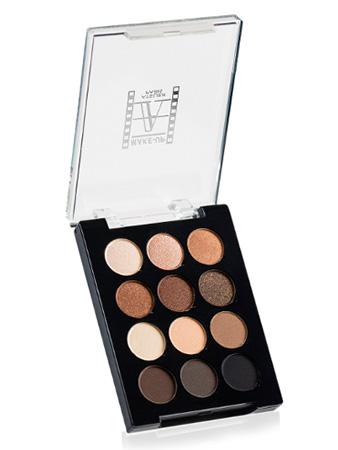 Make-Up Atelier Paris Palette 12 Eyeshadows P12C/ESN Палитра теней для век на 12 цветов гамма телесного цвета