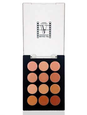 Make-Up Atelier Paris Palette 12 Anti-Cernes P12C/A Корректор-антисерн восковой универсальная палитра на 12 цветов