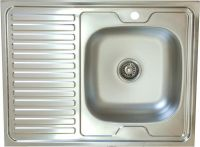 Кухонная мойка нержавеющая 600*800.