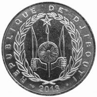 Джибути 100 франков 2013 г.