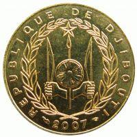 Джибути 20 франков 2016 г.