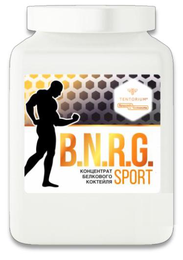 Концентрат белкового коктейля «B.N.R.G. Sport (БиЭнерджи Спорт)», 500г