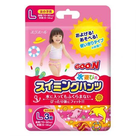 Трусики для плавания GOO.N L 3 F (девочка) (9-14 кг)