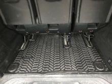 Коврик (поддон) в багажник, Элерон, черный с бортиками