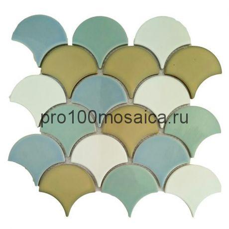 KE04. Мозаика серия Керамика 80*90, размер, мм: 297*270*5 (Happy Mosaic)