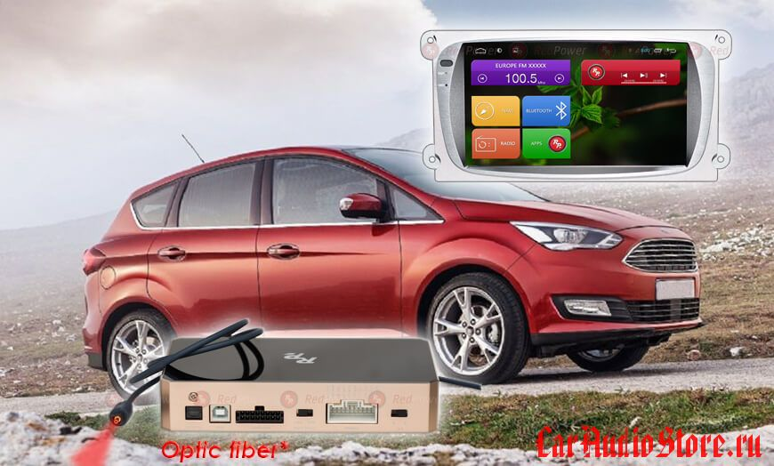 Redpower 31003  Ford Focus (Android 6+) цвет серый