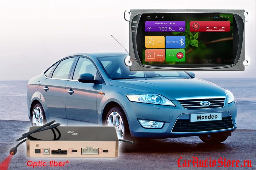 Redpower 31003 Ford Focus (Android 6+) цвет черный