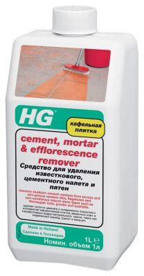 Средство для удаления известкового,цементного налета и пятен HG 1л