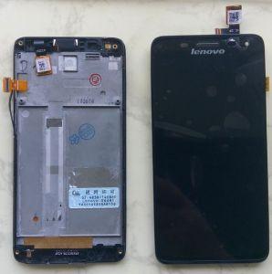 LCD (Дисплей) Lenovo S660 (в сборе с тачскрином) (в раме) (black) Оригинал