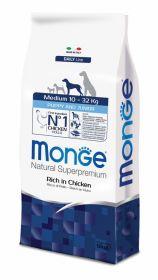 Monge Dog Medium корм для щенков средних пород 3 кг