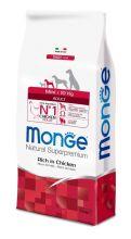 Monge Dog Mini корм для взрослых собак мелких пород 3 кг