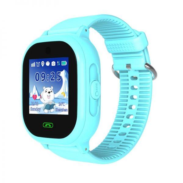 Smart часы детские с GPS GP-011 Голубые