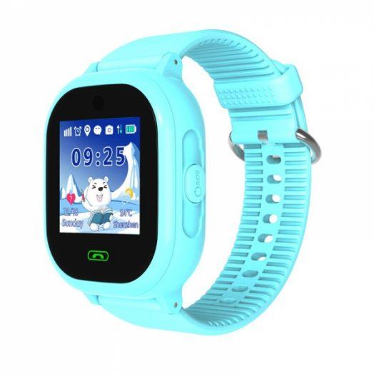 Smart часы детские с GPS GP-011 Голубые *