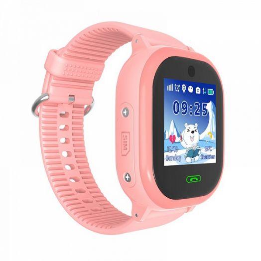 Smart часы детские с GPS GP-011 Розовые