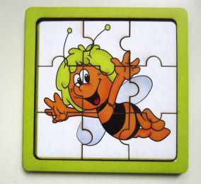 """Развивающий деревянный пазл """"Пчёлка"""""""