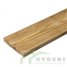 Доска обрезная 30х100х6000 мм, естественной влажности, 1-3 сорт, ГОСТ 8486-86