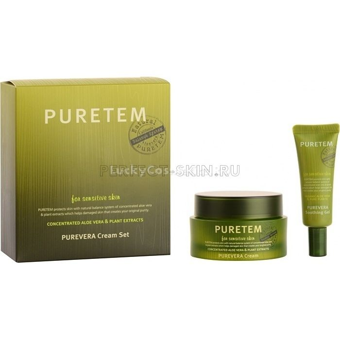 Welcos Puretem  Purevera Cream Set