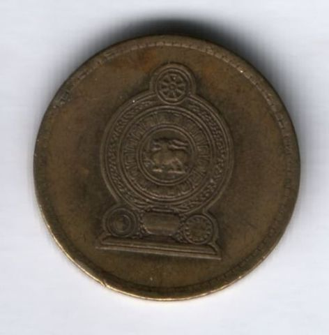 5 рупий 2006 г. Шри-Ланка