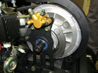 Мотобуксировщик Мухтар 15 NEW обновленная версия 2017 - 2018 гидравлический дисковый тормоз