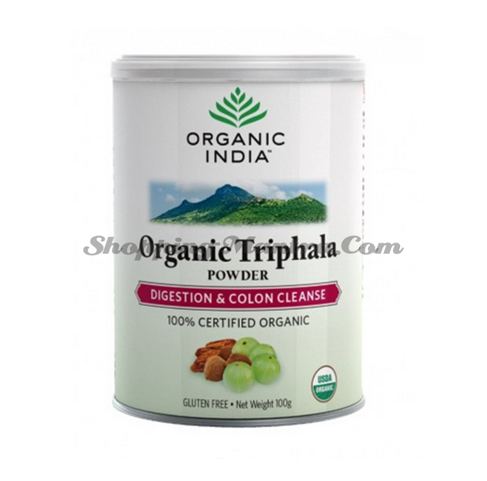 Трифала чурна Органик Индия | Organic India Triphala Churna
