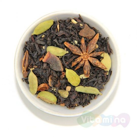 Черный чай со специями - Масала, 100г