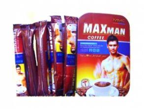 Средство КОФЕ для повышения мужской потенции MaxMan