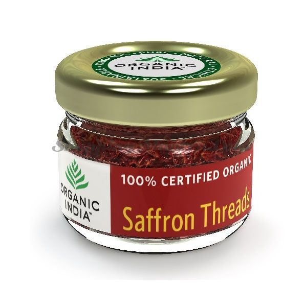 Шафран Органик Индия | Organic India Saffron Thread