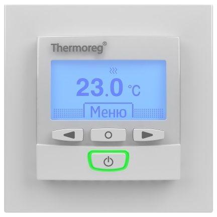 Электронный терморегулятор Thermoreg TI-950 design программируемый для теплого пола