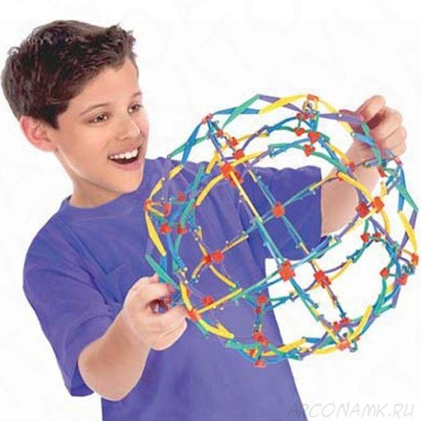 Игрушка большой шар-трансформер Сфера Хобермана