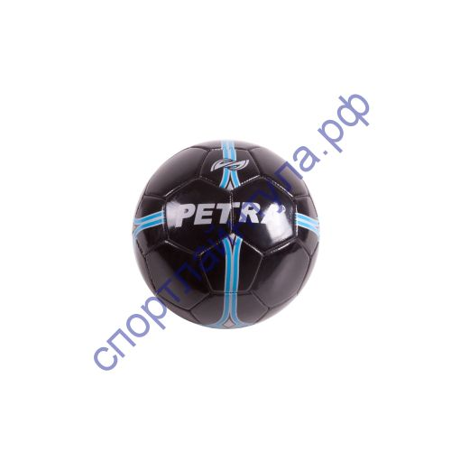 Мяч футбольный Petra FB-2 Black Sz2