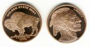 США Буффало медь 2 унции инвестиционный слиток