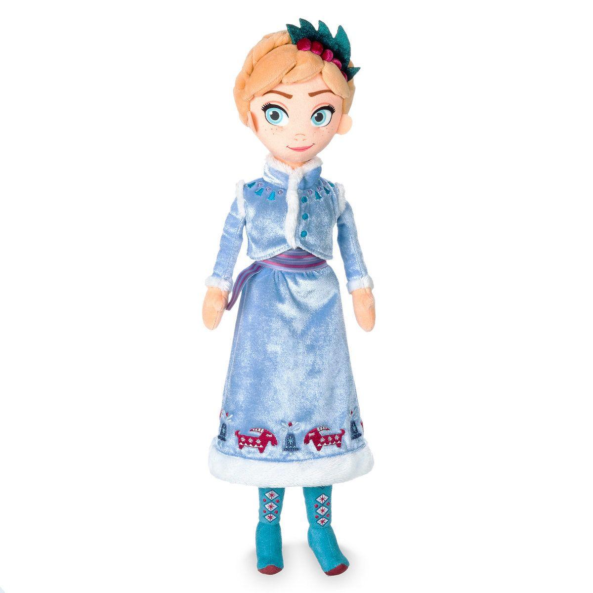 Анна плюшевая кукла Дисней  - Olaf's Frozen Adventure