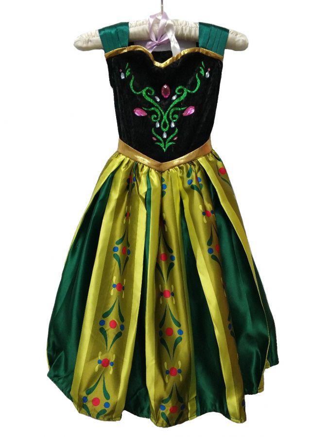 Платье Анны Коронация Disney Store 9/10